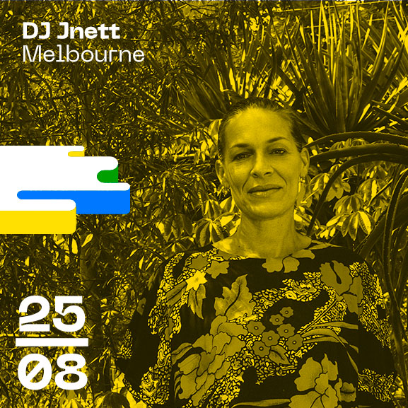 DJ Jnett Melbourne Bordeaux Open Air