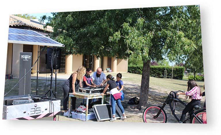 Bordeaux Open Air Centre Aéré Talence initiation DJ