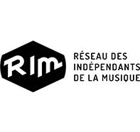 Logo Réseau des Indépendants de la Musique en Nouvelle-Aquitaine
